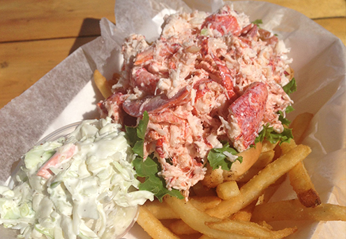 cape cod lunch seafood lobster roll