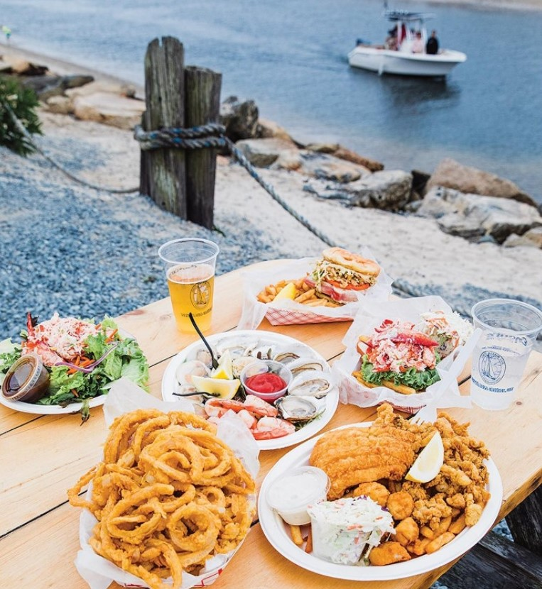 dennis cape cod waterfront dining seafood